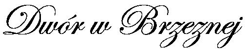 Dwór w Brzeznej