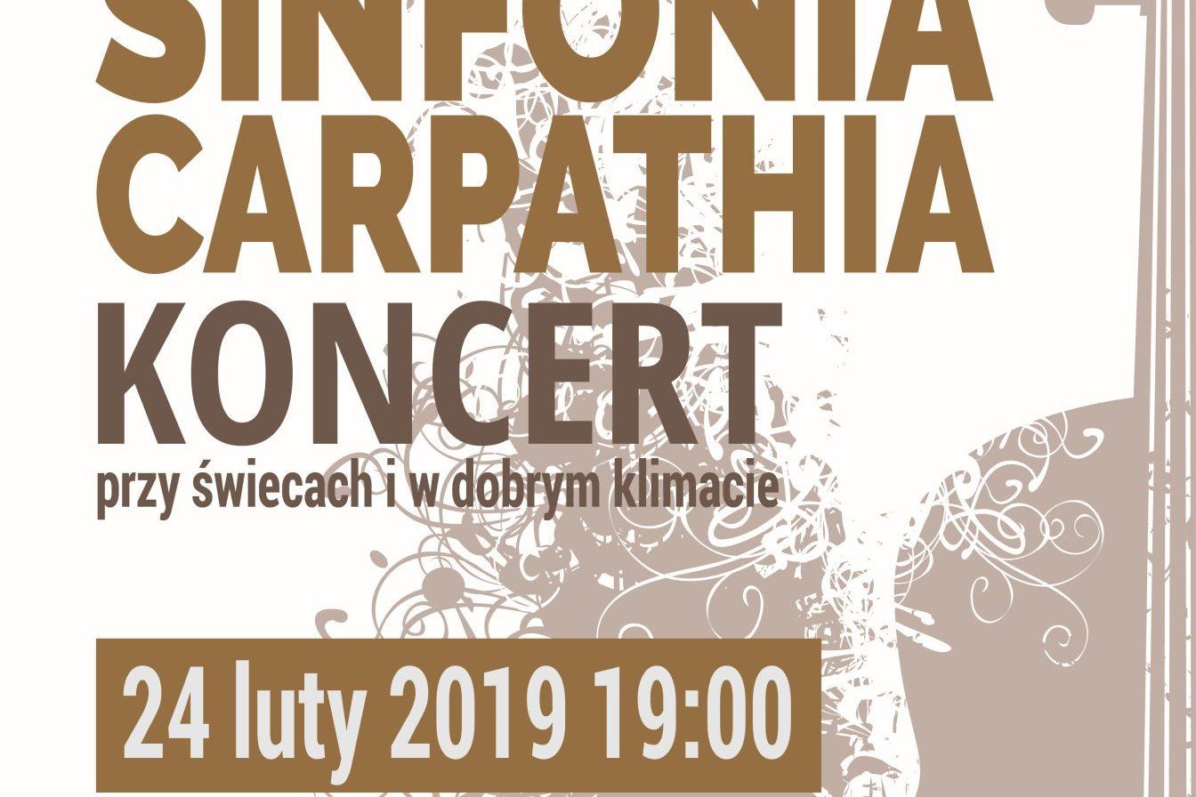 SINFONIA CARPATHIA - 24.02.2019 - ZAPROSZENIE